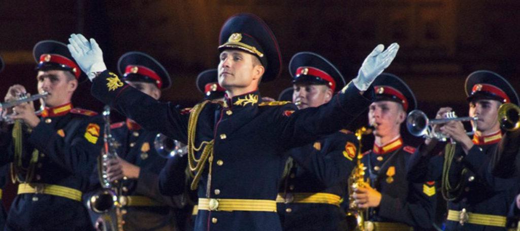 Оркестр Московского суворовского военно-музыкального училища