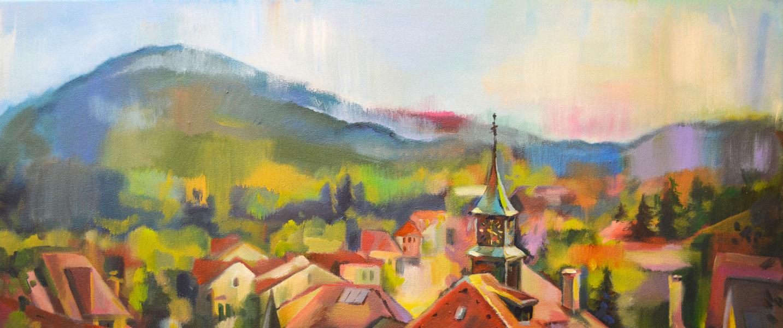 Швейцария: глазами русских художников