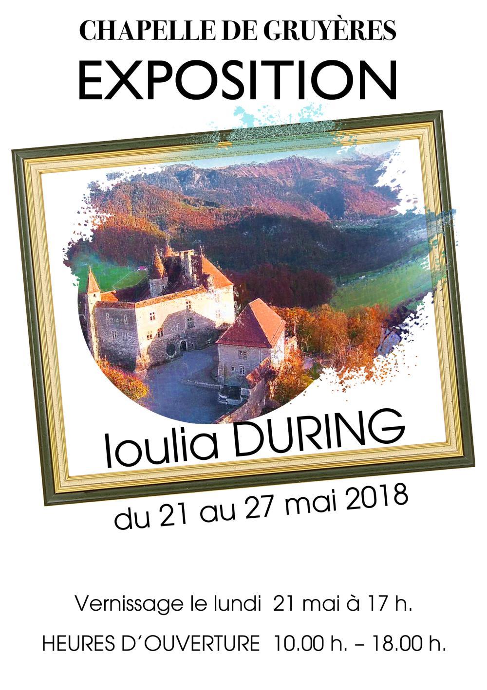 выставка Юлии Дюринг