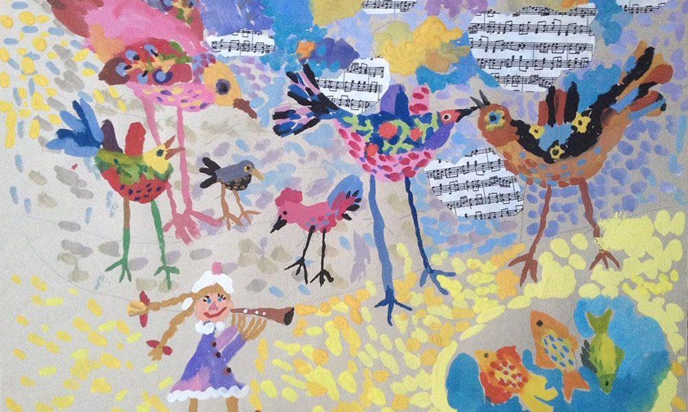 Дети рисуют музыку